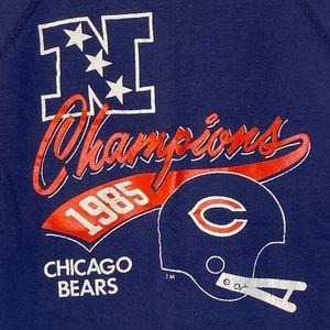 Champion Shirts - Vintage Champion Sweatshirt 1985 Chicago Bears NFL